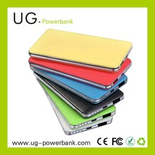Factory Colorful Power Bank for macbook pro /ipad mini 6000mAh Power