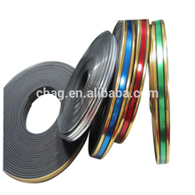 Colorful And Soft Plastic Edge Band Furniture Strip/Chrome Moulding Trim