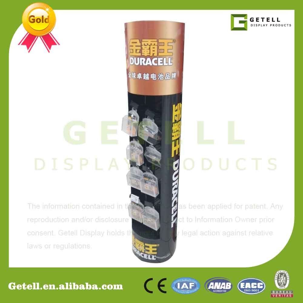 Getell Cardboard Display with PP board Pop Floor Displaystand