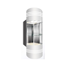 Good performance hot sale standard size stainless steel decoration manual elevator