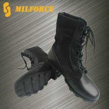 Panama rubber sole black cheap used military boot