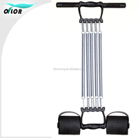 Multifunctional Detachable 5 Spring Exercise Chest Pull Expander Fitness 3 in 1 Puller