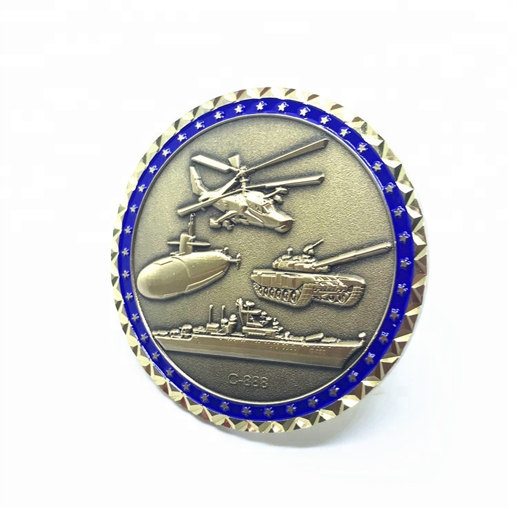 Custom Marine Corps challenge coin supplies metal souvenir collectable coine