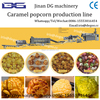 Cretors FT American caramel popcorn production line from Jinan DG machinery