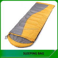 Custom Waterproof Cheap Envelop Sleeping Bag With Hood