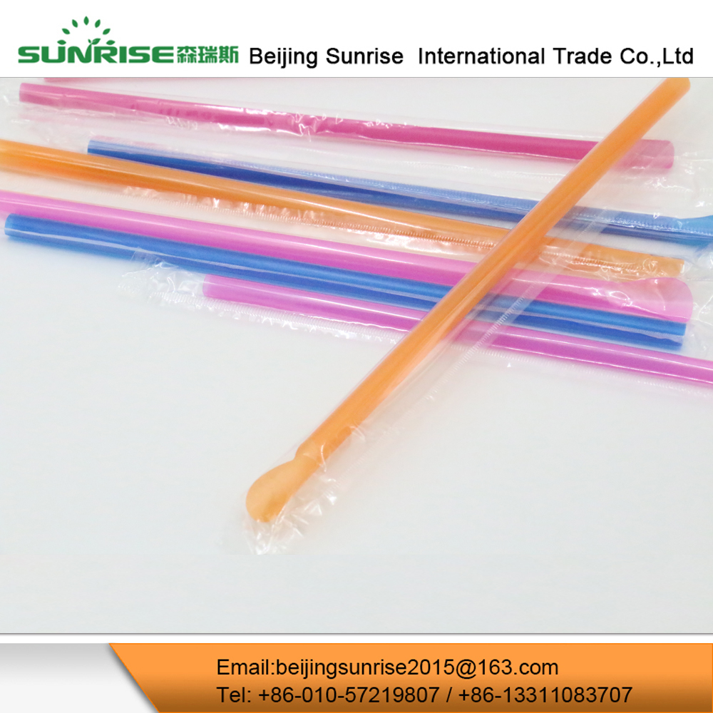 Plastic Drinking Straw For Orange Juice
