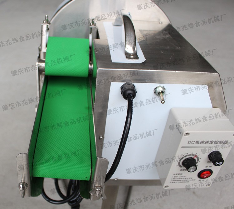 automatic kicthen small green bean cutting machine pepper onion cutter kimchi chopping machine