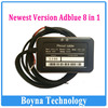 2014 Wholesale 8 in 1 Adblue Emulator For Truck Remove Tool for MAN Scania Iveco DAF Volvo Renault Adblue Emulator