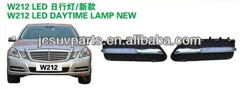 LED car lamp LED DRL daytime running light for Benz Mercedes 2012 W212 A style