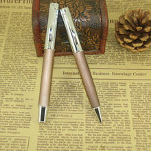 New Design Twist Mechanism Metal Ballpoint Pen Writing Instrument