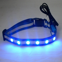 Good quality flashing led solar dog collar