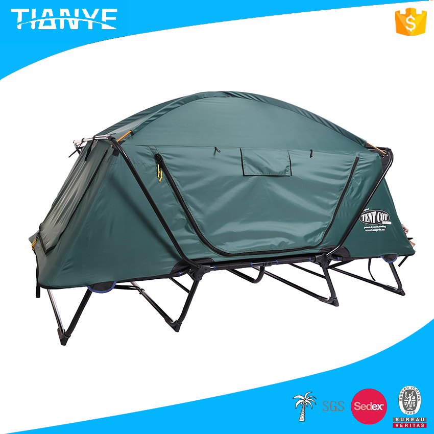 high quality steel portable folding waterproof camping tube privacy bed tent