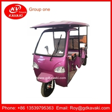 Wholesale China Factory 2015 New Electric Rickshaw For Passengers Battery Operated Electric Tricycle For India Market