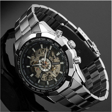 Wholesale guangzhou watches winner mature man wrist brand watch