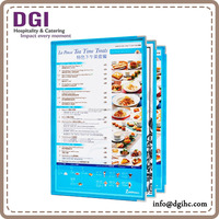 restaurant equipment supplies Hong Kong restaurant equipment supplies provided high quality A4 dessert real leather menu cover