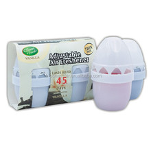 120gX2 PK good quality egg canned air freshener/scent toilet deodorizer with best price