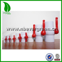 High-quality PVC Ball Valve with long and butterfly handle