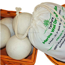 100% new Zealand merino wool dryer balls manufacturer