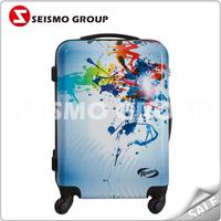 butterfly print luggage hard case trolley bags and luggages