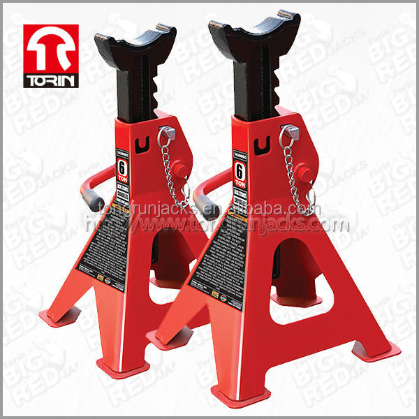 Torin BigRed Jack Stand 6 Ton Double Safety Pin