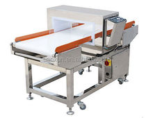 Food and textile industry conveyor belt metal detector price for sale