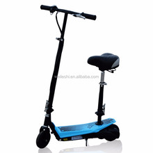 Foldable rechargeable battery powered children scooter 2 wheel electric scooter for adults