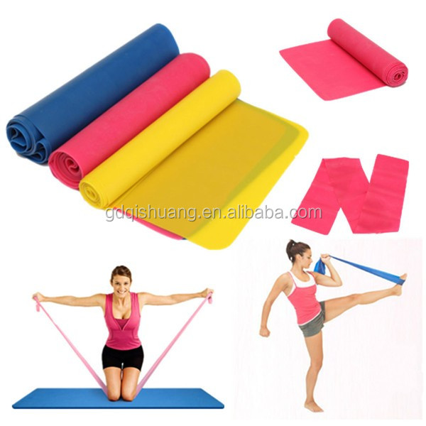 2017 hot sell latex stretching band/resistance band training straps/heavy duty resistance bands