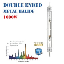 Factory Wholesale Price DE Double Ended 1000w MH Metal Halide Lamp Grow light