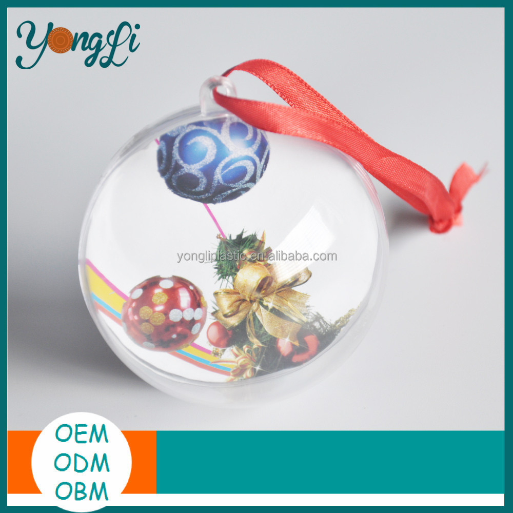 Decoration Plastic Ball Christmas Mirror Ball