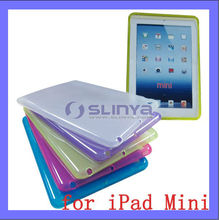 8 Color 1mm Thinkness Slim TPU Case For iPad Mini Crystal Cover