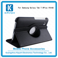 [kayoh]Rotating 360 degree TPU case custom phone cases phone cases for samsung galaxy tab 2 p3100