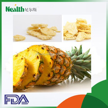 low calories low fat dried baked pineapples slices supplier