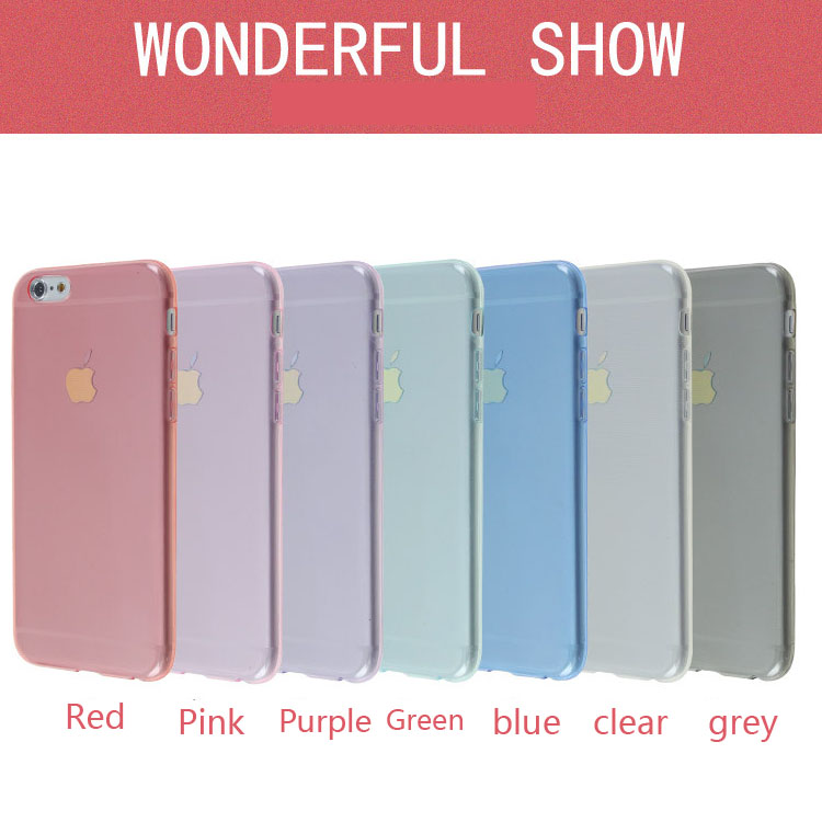 2017 New coming cell phone Slim tpu case for LG U 7 different colors