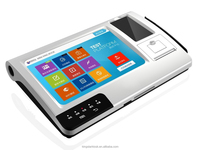 Tablet Android Rfid Pos Terminal with Bar Code Printer