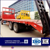 Construction good asistant: flat cargo truck heavy cargo carrying transporter for sale