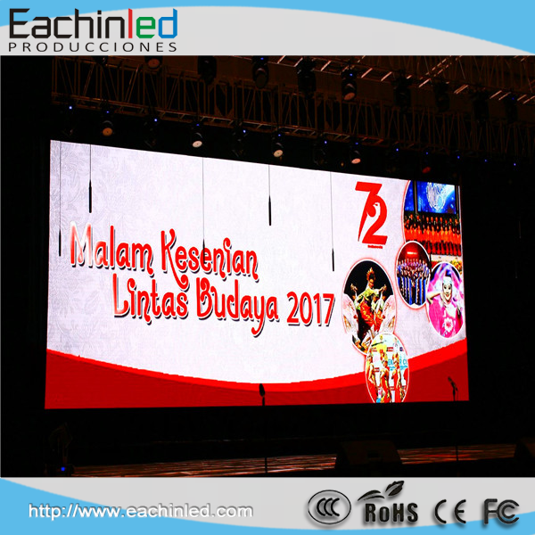 Event stage p3.91 LED screen display/Big led wall for YouTube video