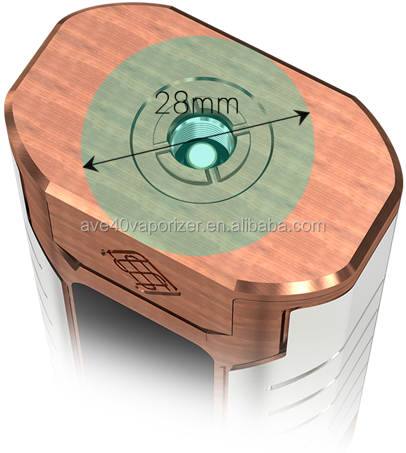 Newest Launch Hidden Fire Button with Green Indicator Light Wismec Sinuous FJ200 Divider Kit