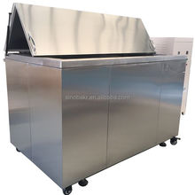 Hot sale ultrasonic cleaning equipment for automotive radiator with overflow valve