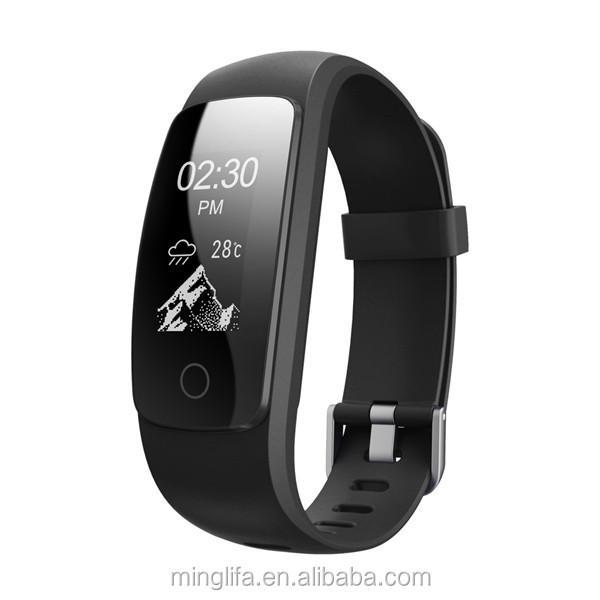 New arrival fashion design veryfit app smart bracelet heart rate bluetooth wristband ID107 plus HR