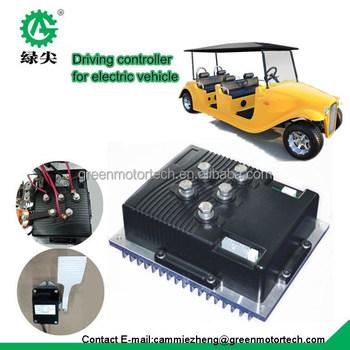 Intelligent Ev Motor Controller With Motor Kit Drive Parts