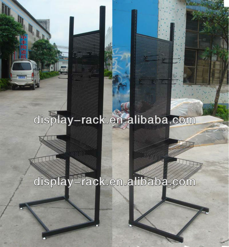 supermarket metal display dog food stands HSX-DR0187