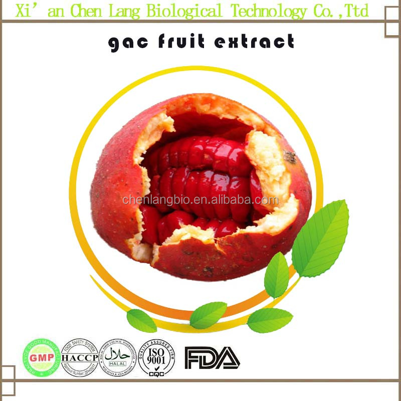 Lowest Price with Well Packaged gac Fruit Extract Powder