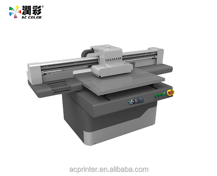Industrial Inkjet Printer used Chinese uv flatbed printing machine For Glass/Wood/ABS