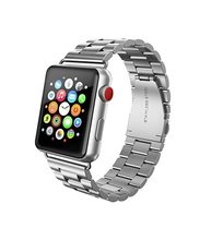 Premium Stainless Steel Metal Watch Band for Apple 38mm for Series 1 Series 2 Series 3
