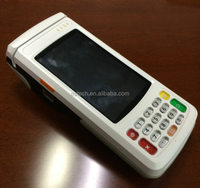 H510 handheld fingerprint 3G Touch android portable 5.5 inch GPRS pos terminal with nfc reader