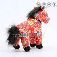 Online shop china electric large plush east horse toy