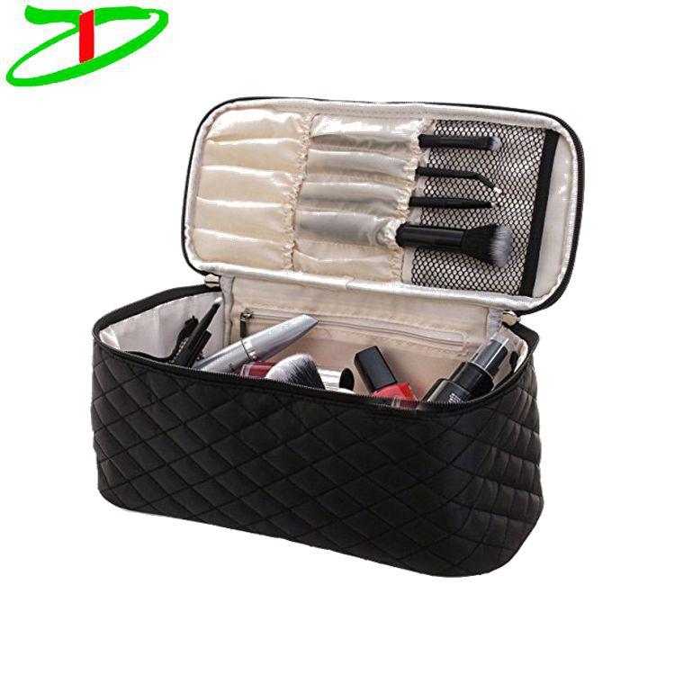 2018 New Arrival Nylon Cosmetic Bag Make up Brushes Bag Cosmetic Storage Box