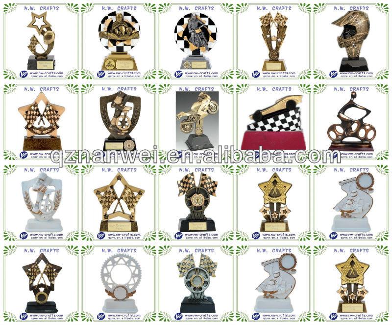 ouro do futebol troféu da resina presente da lembrança feitos