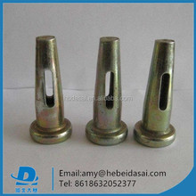 China supplier galvanized wedge pin for Aluminum Formwork