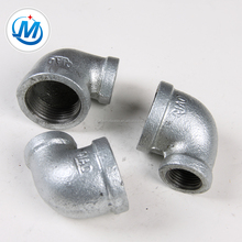 BSP Galvanized Malleable Iron Pipe Fitting Reducing Elbow